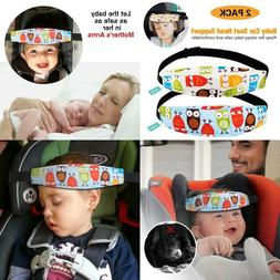2 Packs Toddler Car Seat Neck Relief And Head Support, Pillo