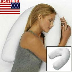 2pcs Side Sleeper Therapeutic Pillow Neck & Back Sleeping Sp