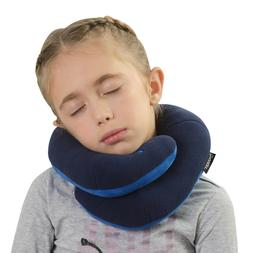 BCOZZY Kids Chin Supporting Travel Neck Pillow positions Hea
