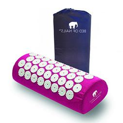 Bed of Nails, Pink Original Acupressure Pillow for Neck/Body