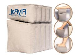 Flypal Inflatable Foot Rest for Travel, Home and Office and