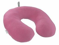 Lewis N. Clark Belle Hop Comfort Neck Pillow, Pink, One Size