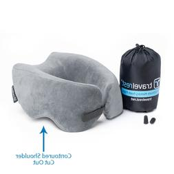 New, Repackaged - Ultimate Memory Foam Travel Pillow / Neck