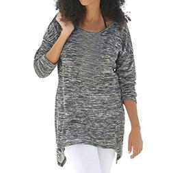 SPE969 Shirts Big Promotion! Round Neck Women Loose Blouse A