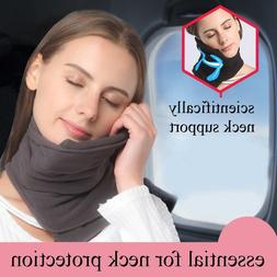 TRAVEL PILLOW Super Soft Neck Support for Airplanes