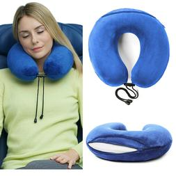 Travelrest - Therapeutic Memory Foam Travel & Neck Pillow -