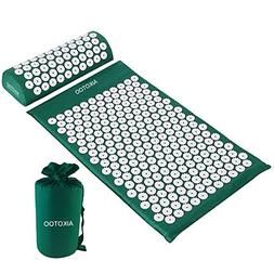 Acupressure Mat and Pillow Set for Sciatic Pain Back Pain an