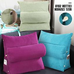 adjustable back wedge cushion sofa pillow bed