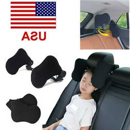 Adjustable Car Seat Headrest Pillow Head Neck Support Rest S