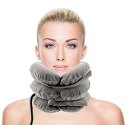 Air Inflatable Pillow Cervical Neck Headache Pain Traction S