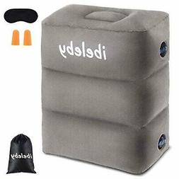 iBeleby Airplane Foot Rest, Inflatable Travel Pillow for Kid