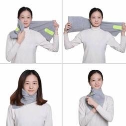 AOOU Travel Pillow Portable Soft Neck Support Perfect for An