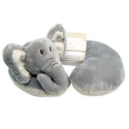 Baby Neck Pillow Soft Plush Elephant Childs Travel Comfort P