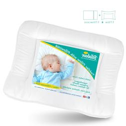 Baby Toddler Pillow with Cotton Pillowcase Infant Soft Thin