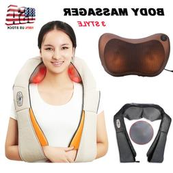 Back&Shoulder Shiatsu Massager Electric Neck Massage Pillow