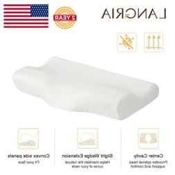 Back And Side Sleeper Memory Foam Bed Pillow Therapeutic Cer