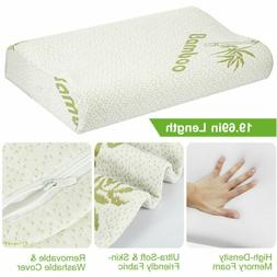 Bamboo Sleeping Orthopedic Memory Foam Pillow Contour Cervic
