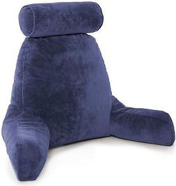 Bed Reading Pillow Neck Rest Arms Back Support Memory Foam C
