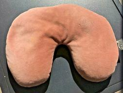 Bucky Brand Neck Pillow for Travel, Filled w/ Buckwheat Hull