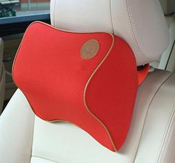 Car Mid-hard Travel Memory Foam Car Seat Head Pillow Neck Pi