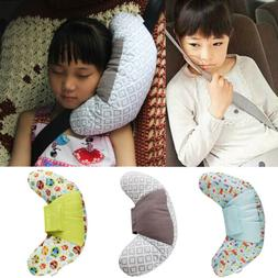 Car Seat Travel Pillow for Kids,Seatbelt Pad Headrest Neck S