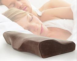 MQYH Cervical Contour Bed Pillow For Neck Pain And Side Slee