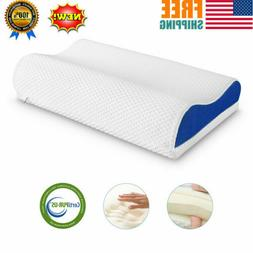 Adjustable Height Memory Foam Bed Pillow Soft-Medium Firmnes