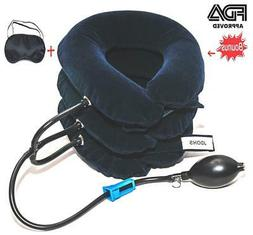 Cervical Neck Traction Device, Pillow, Collar, Inflatable, N
