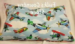 Childrens travel pillow Airplane Jet or Dinosaur can be pers