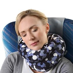 chin supporting neck pillow