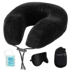 chin supporting travel pillow 100 percent memory