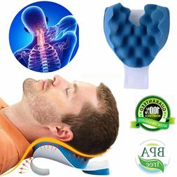 CHIROPRACTIC PILLOW Cervical Neck Pillow Alignment Neck Shou