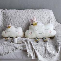 Cloud Pillow Cushions Pillow Children Plush Decorative Throw