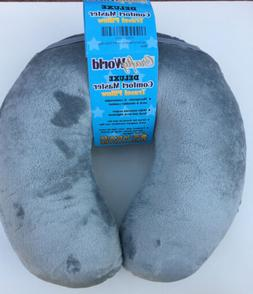 Comfort Master Travel Pillow; Get Wrapped in Extreme Comfort