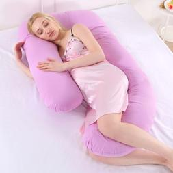 Comfy Pregnancy Body Pillow Maternity Back Belly Neck Suppor