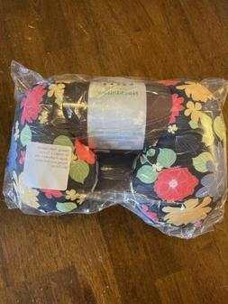 compact neck pillow nwt floral
