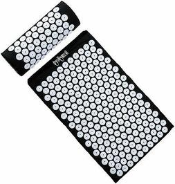 HemingWeigh Complete Acupressure Mat and Pillow Set with Bon