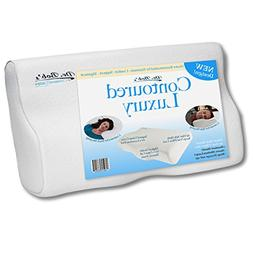 Dr. Bob's Contoured Luxury - Neck and Cervical Pillow Memory