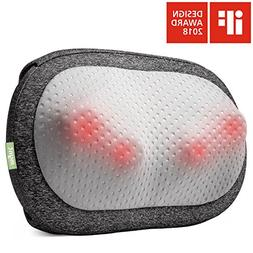 Mynt Cordless Neck Back Massager, Shiatsu Rechargeable Massa