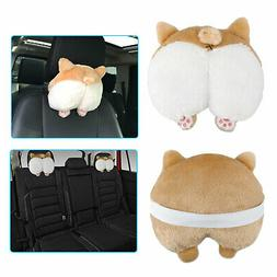 Corgi Cute Butt Throw Pillow Neck Support Pillow Cushion Ani