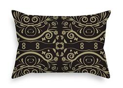 Court Style Throw Pillow Covers 16 X 24 Inches / 40 By 60 Cm
