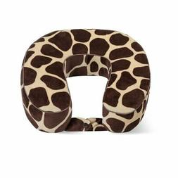 World's Best Cushion-Soft Memory Foam Neck Pillow, Giraffe