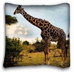 Custom Animal Custom Zippered Pillow Case 16x16 inches from