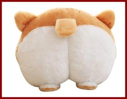 Cute Corgi Butt Throw Pillow Pets Puppy Neck Support Cushion