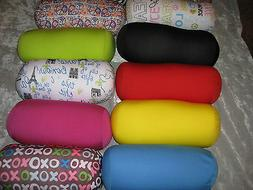 Decorative Neck Roll Microbead Pillow Soft Bed Couch Sofa Tr