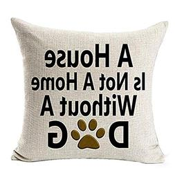 Kim88 Decorative Throw Pillow Best Dog Lover Gifts Cotton Li