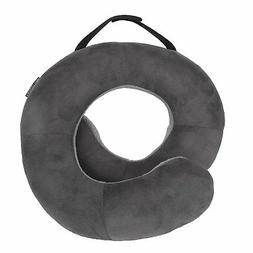 Travelon Deluxe Wrap-n-Rest Pillow, Dark Light Gray