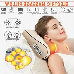 Electric Head Neck Massage Pillow Kneading shiatsu Massager