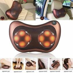 Electric Lumbar Neck Back Massage Pillow Massager Kneading C