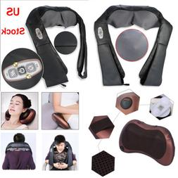 Electric Shiatsu Back Neck Shoulder Massager Kneading Massag